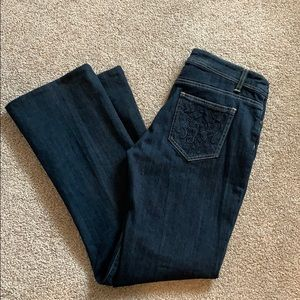 Nicole Miller bootcut jeans size 6